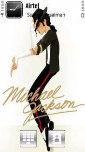 Michael Jackson Sunny Mobile Theme