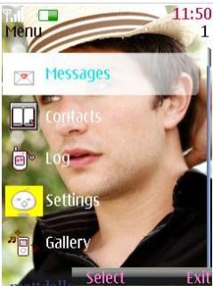 Matt Dallas Nokia Theme Mobile Theme