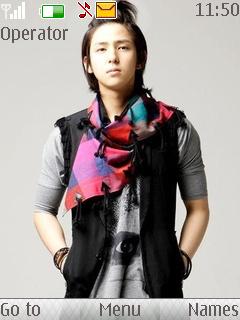 Kim Kibum Mobile Theme