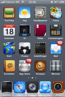 HD 3D Gray Quab Free IPhone Theme Mobile Theme