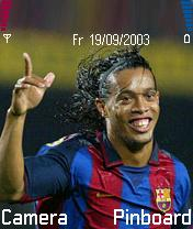 Ronaldinho Mobile Theme