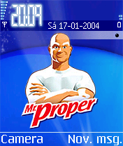 Mr Proper Mobile Theme