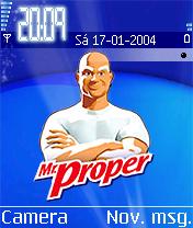 Mr Proper Mobile Theme