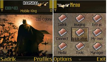 Batman Begins Mobile Theme