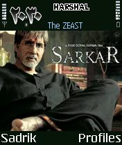Amitabh BachanIn Sarkar Mobile Theme