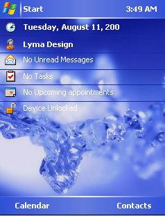 Ice Theme Mobile Theme