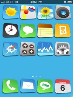 Big Comic IPhone Theme Mobile Theme