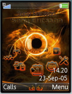 Fire Eye Mobile Theme