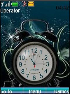 Alarm Clock Nokia Theme Mobile Theme