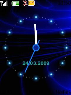 Animated Clock Nokia Theme Mobile Theme