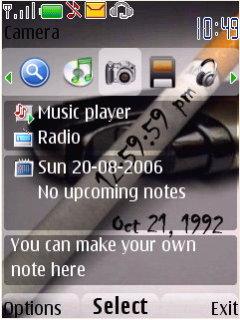 Cigeratte Nokia Theme Mobile Theme