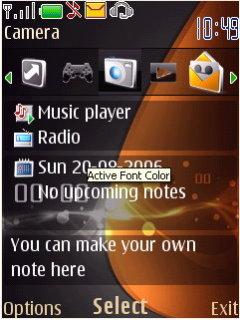 Nokia SX2 Theme Mobile Theme