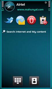 Symbian Plane S60 V5 Theme Mobile Theme