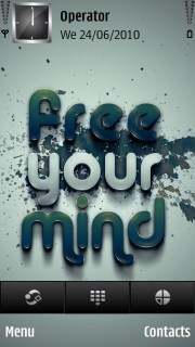 Free Your Mind Mobile Theme