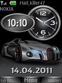 Buggati Dual Mobile Theme