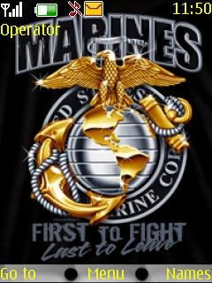 Marines Mobile Theme