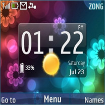 Htc Flower Mobile Theme