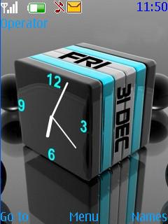 3D Cube Mobile Theme