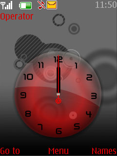 Special Clock Mobile Theme