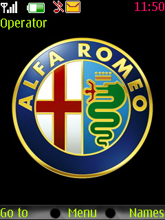 Alfa Romeo Mobile Theme