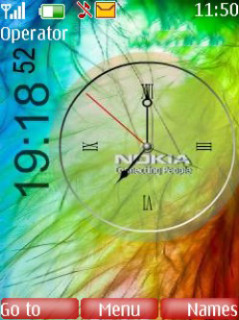 Second Nokia Mobile Theme