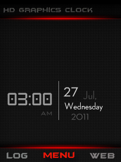 Hd Graphics Clock Mobile Theme
