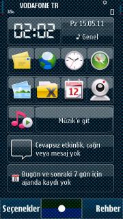 Blue V2 Mobile Theme