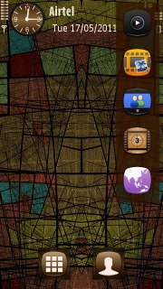 Chaos Mobile Theme