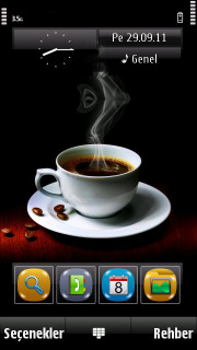 Hot Coffee Mobile Theme