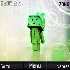 Danbo Tech Mobile Theme