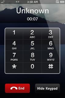 Smooth Dialer Mobile Theme