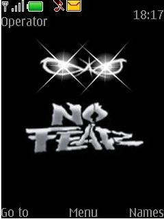 Animated No Fear Mobile Theme