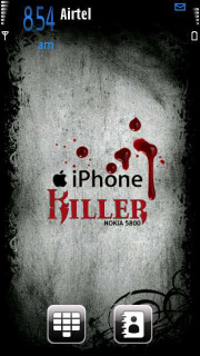 IPhone Killer Mobile Theme