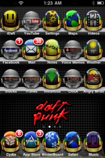 Da Funk IPhone Theme Mobile Theme
