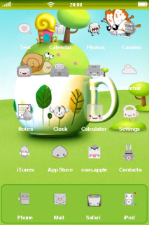 Spring Fairy Tales Mobile Theme