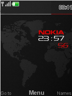 Nokia Carbon Mobile Theme