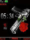 Guns And Roses Mobile Theme
