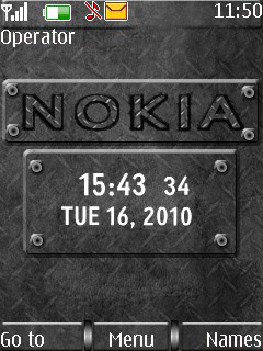 Steel Nokia S40 Theme Mobile Theme