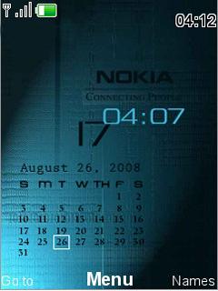 Nokia Calender Mobile Theme