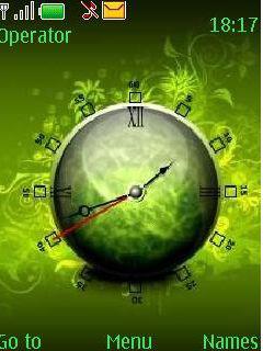 Swf Green Mobile Theme