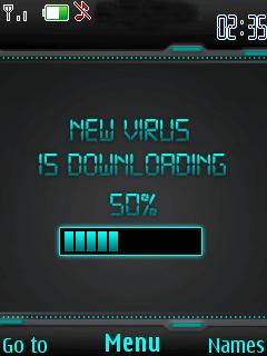 New Virus Mobile Theme