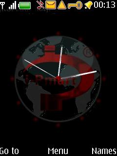 Swf Mart Clock Mobile Theme