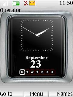 Wall Clock Mobile Theme