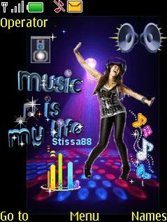 Nokia Music Is My Life Mobile Theme