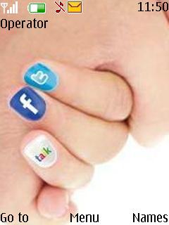 Cute Mobile Theme