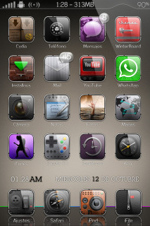 IPhony Mobile Theme