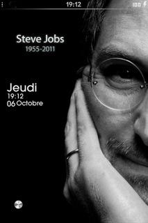 RIP Steve Jobs Mobile Theme