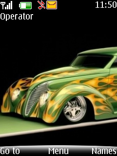 Hot Old Roder Mobile Theme