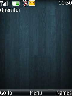 Turquoise S40 Theme Mobile Theme