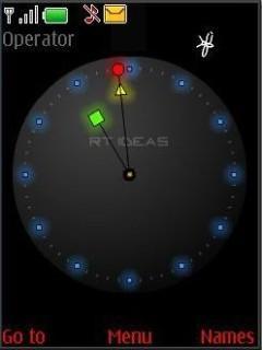 Flash Clock Mobile Theme